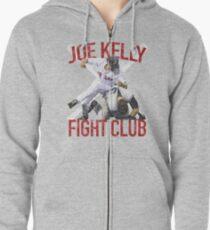 Vintage Joe Kelly Fight Boston Baseball Club T-Shirt Zipped Hoodie
