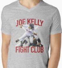 Vintage Joe Kelly Fight Boston Baseball Club T-Shirt Men's V-Neck T-Shirt