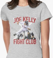 Vintage Joe Kelly Fight Boston Baseball Club T-Shirt Women's Fitted T-Shirt