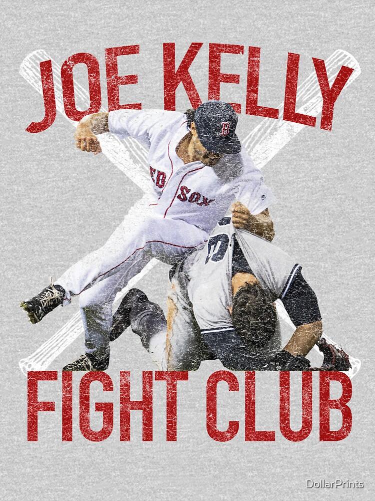 Vintages Joe Kelly-Kampf-Boston-Baseball-Verein-T-Shirt von DollarPrints