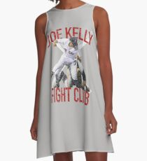 Vintage Joe Kelly Fight Boston Baseball Club T-Shirt A-Line Dress