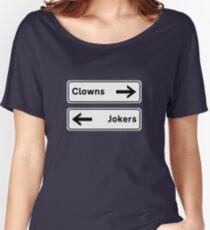 Camiseta ancha para mujer Atrapados en el medio contigo
