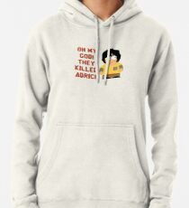 Oh My God! They Killed Adric! Pullover Hoodie