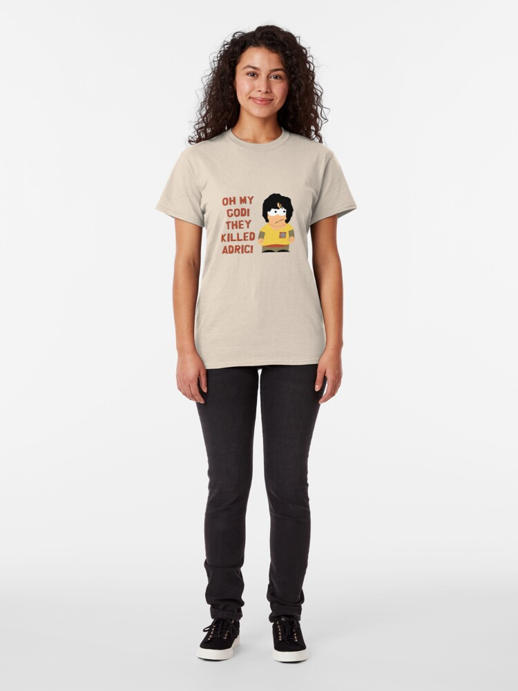 Alternate view of Oh My God! They Killed Adric! Classic T-Shirt
