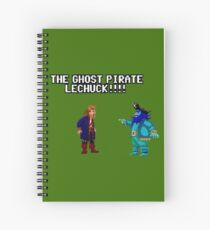 The ghost pirate LeChuck Spiral Notebook