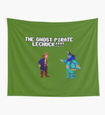 The ghost pirate LeChuck Wall Tapestry