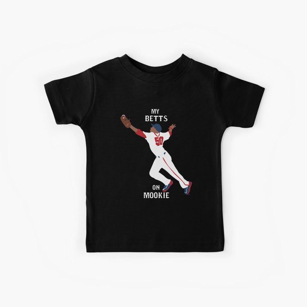 My Betts On Mookie Kids T-Shirt