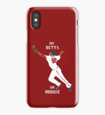 My Betts On Mookie iPhone Case