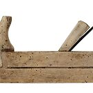 Planer - old hand tool by siloto