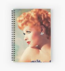Lucille Ball, Vintage Hollywood Legend Spiral Notebook