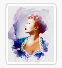 Lucille Ball, Vintage Hollywood Legend Sticker