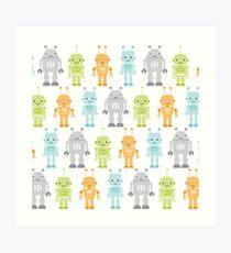 Robots Art Print