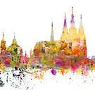 Famous landmarks of Prague by siloto