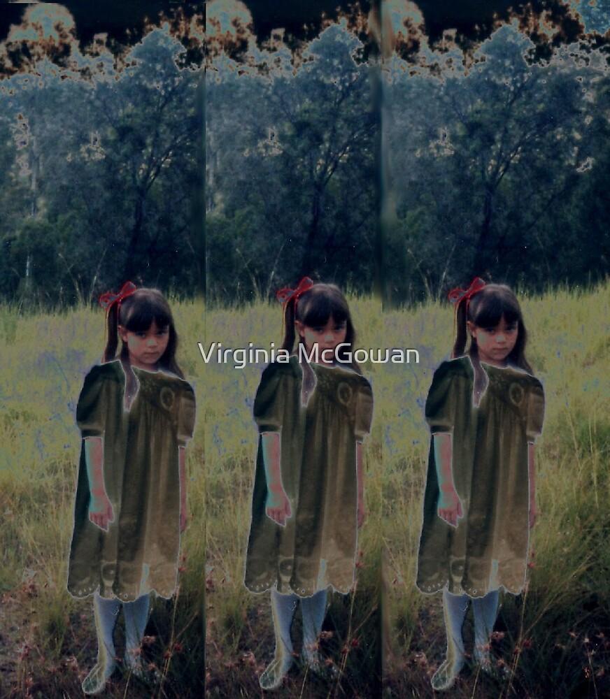 The new dress x three  by Virginia McGowan
