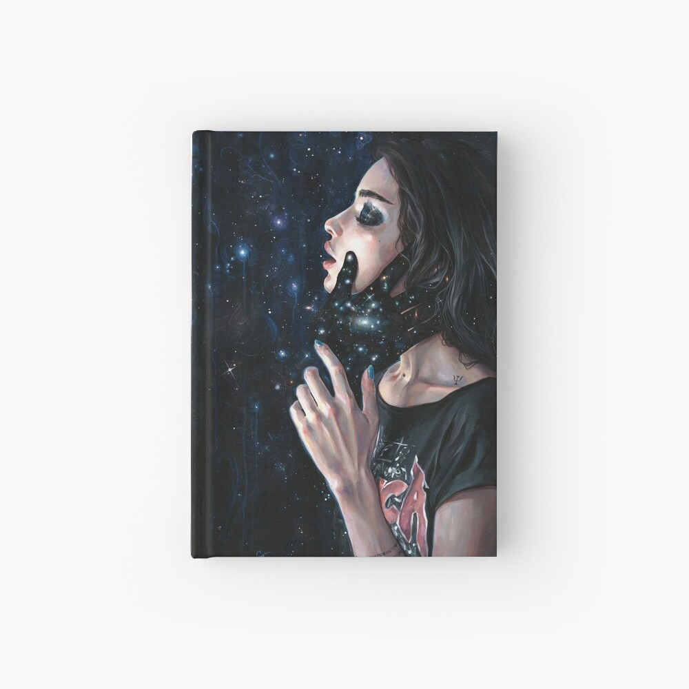 Gravity Trance Hardcover Journal