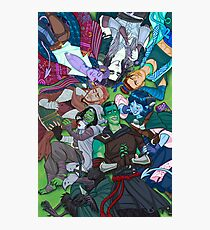 Mighty Nein Cuddlepile Photographic Print