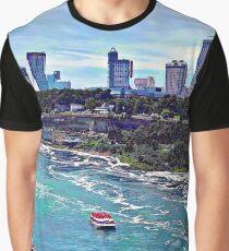 Niagara Falls ON Skyline Graphic T-Shirt