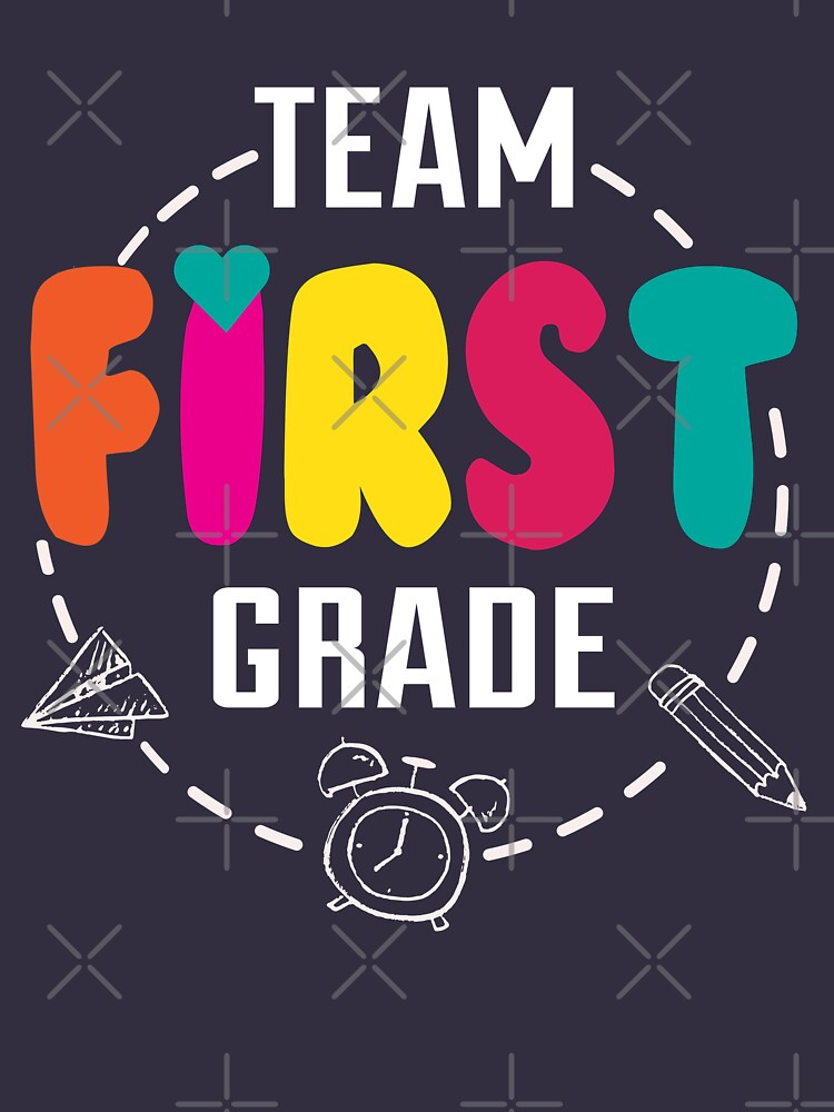 First grade shirt back to school  by niftee