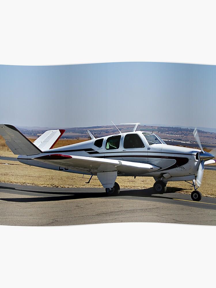 Beechcraft Bonanza V-Tail | Poster