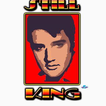 Elvis Still King by thegrafaxspot