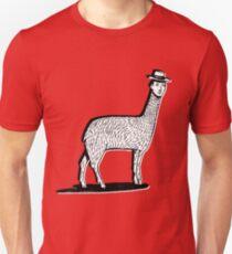 LLAMA HEAD Unisex T-Shirt