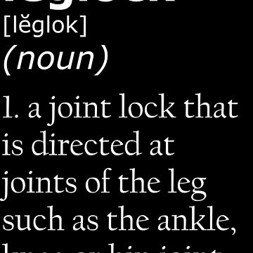 Leglock definition by CauliflowerArea