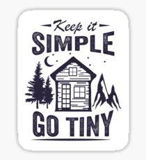 Keep it Simple Go Tiny Sticker