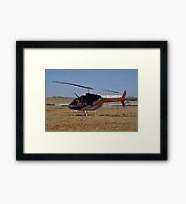 Bell 206B3 Helicopter Framed Print
