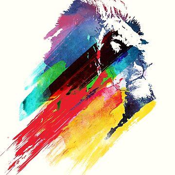 Our hero Lion by robertfarkas