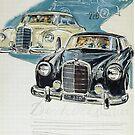 Fabulous Fifties...Mercedes Typ 220 and 300. by edsimoneit