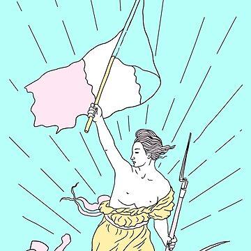 Liberty popart by robertfarkas