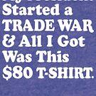 Lustiges Antitrumpf $ 80 Dollar-T-Shirt von BootsBoots
