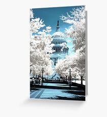 Capital Building Greeting Card