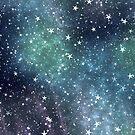 Night sky by BlackDevil