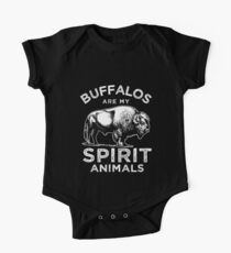 Büffel Spiritualität Baby Body Kurzarm
