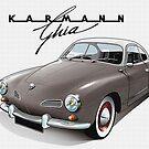 German Automobile Vintage Fifties by edsimoneit