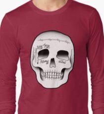 Post Malone Skull Tattoo Long Sleeve T-Shirt