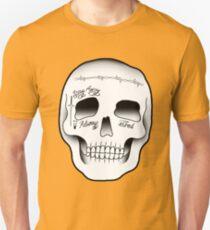 Post Malone Skull Tattoo Slim Fit T-Shirt