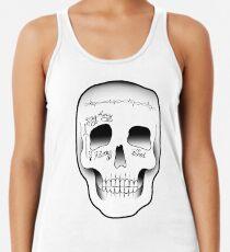 Post Malone Skull Tattoo Women's Tank Top