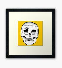 Post Malone Skull Tattoo Framed Print