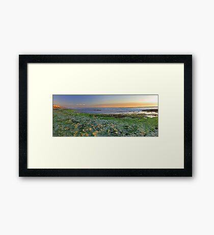 North Beach Sunset  Framed Print