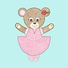Ballerina Bear by emilykcreations