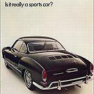 Karmann Ghia Vintage Fifties by edsimoneit