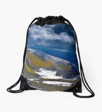 Early Snow Drawstring Bag