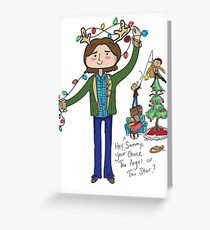 A very supernatural christmas! Greeting Card