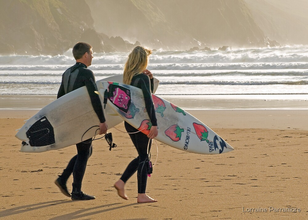 Surfer synchro by Lorraine Parramore