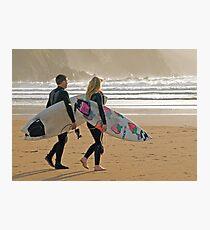 Surfer synchro Photographic Print