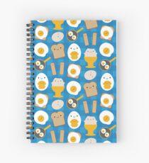 Kawaii Eggs For Breakfast Spiral Notebook