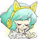 « Casque oreilles chat » par Libou