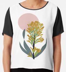 Astra Dawn Floral Chiffon Top